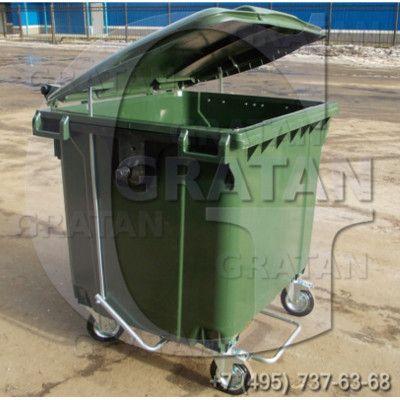 Купить Евроконтейнер для мусора 1100л недорого