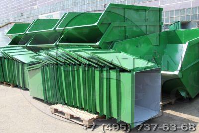 Купить Мусорный контейнер с крышкой БК-0,75У (0,75м3) недорого