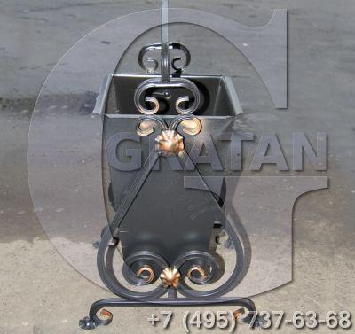 Купить Урна кованая КЯ-25 Эмаль недорого