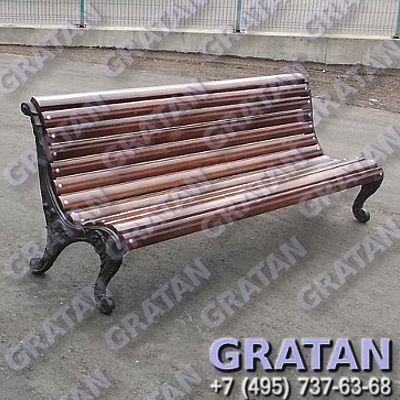 Купить Чугунная скамейка СЧ-1 недорого