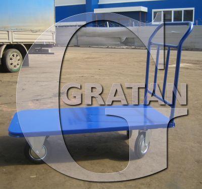 Купить Платформенная тележка 700*1200 с колесами недорого