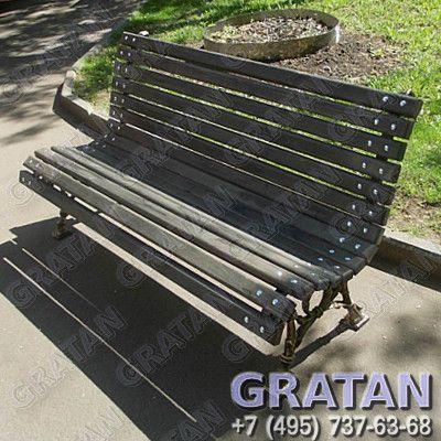 Купить Чугунная скамейка СЧ-6 недорого