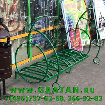 Купить Велопарковка Velo с боковинами недорого