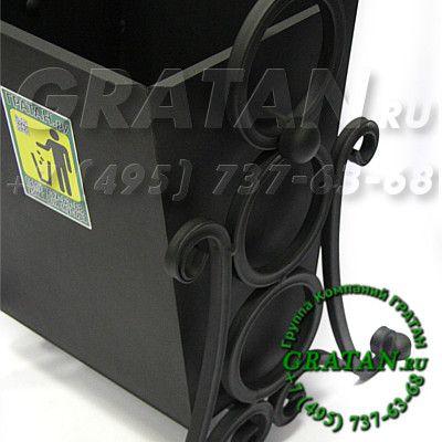 Купить Урна кованая ПЖ-25 Полимерное покрытие недорого