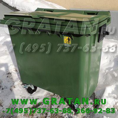 Купить Евроконтейнер для мусора 770л МGВ-770 недорого