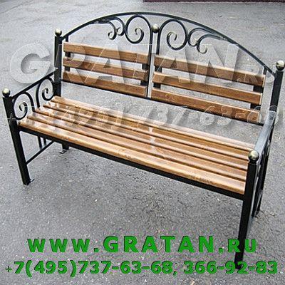 Купить Скамья металлическая НЛ-1,5 недорого