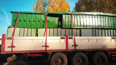 Купить Мусорный контейнер 1.1 м3 (БК-1.1 усиленный) недорого