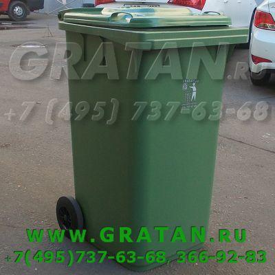 Купить Мусорный контейнер МКТ-240 недорого