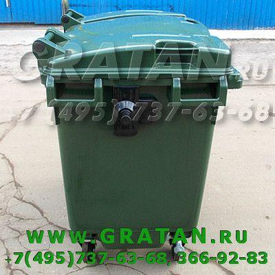 Купить Евроконтейнер для мусора 770л GRATAN недорого