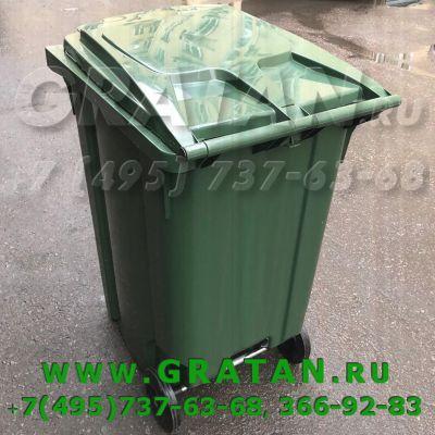 Купить ЕвроКонтейнер для мусора 360л GRATAN недорого