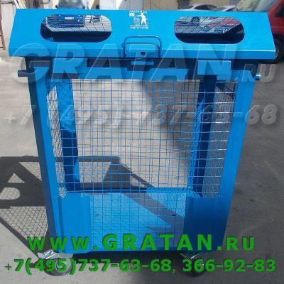 Купить Сетчатый контейнер РСО 1,1м3 ПРЕМИУМ недорого