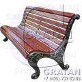 Чугунная скамейка СЧ-1